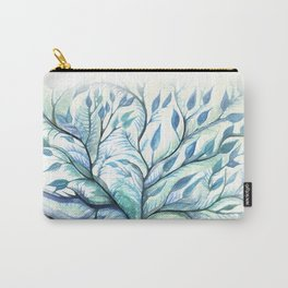 Tree of Life (blues) Carry-All Pouch