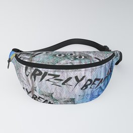 Southern Point For Grizzly Bear Fanny Pack