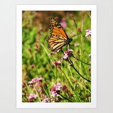 Monarch Fairytale Art Print