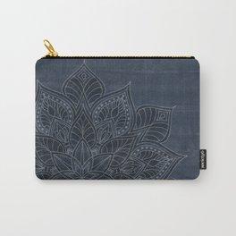 Essence (dark) - blue/grey Carry-All Pouch