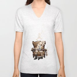 The Ghost in the Shell Unisex V-Neck