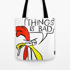 This is bad Tote Bag
