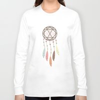 dream catcher Long Sleeve T-shirts featuring Dream Catcher by 83 Oranges™
