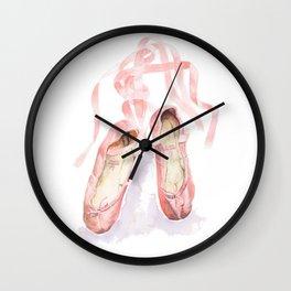 Ballet slippers Wall Clock