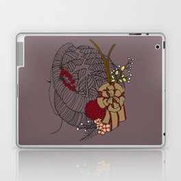 Holiday Locs Wreath Laptop & iPad Skin