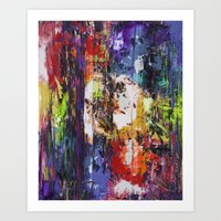 fringe Art Prints featuring fringe by Glint & Lime Art