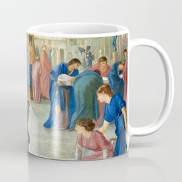 "Edward Burne-Jones ""St. Theophilus and the Angel"" Coffee Mug"