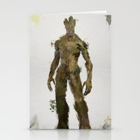 groot Stationery Cards featuring Groot by Scofield Designs