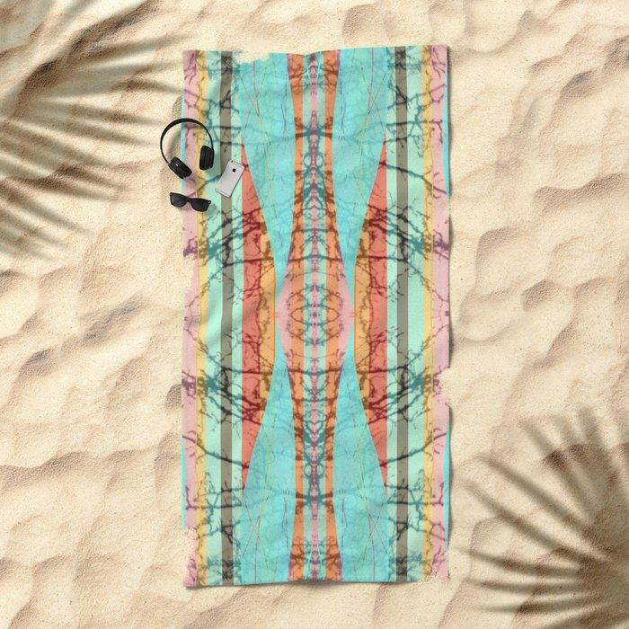 House Party Beach Towel