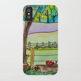 A cute landscape iPhone Case