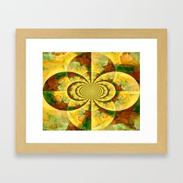 Hypnotic Abstract Framed Art Print