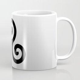 Triskele 8 -triskelion,triquètre,triscèle,spiral,celtic,Trisquelión,rotational Coffee Mug