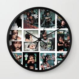 RAZOR:SCARS interior pages Wall Clock