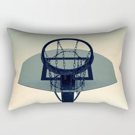 Basketball Sunset Rectangular Pillow