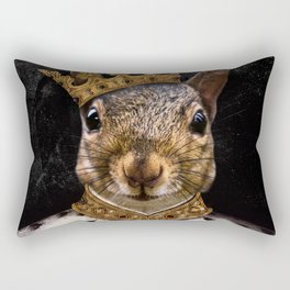 Lord Peanut (King of the Squirrels!) Rectangular Pillow