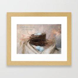 Bird Nest 1 Framed Art Print