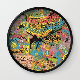 King Gizzard And The Lizard Wizard - Oddments Wall Clock