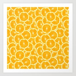 Oranges are the new black Art Print