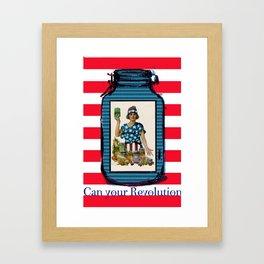 Can your Revolution Framed Art Print
