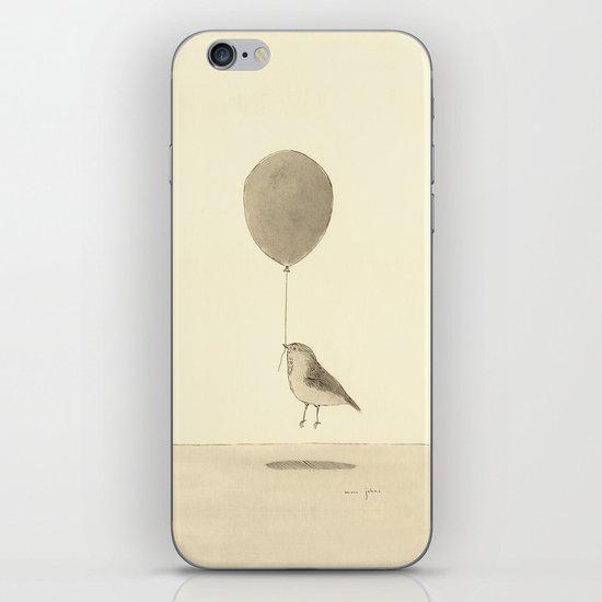 bird with a balloon iPhone & iPod Skin