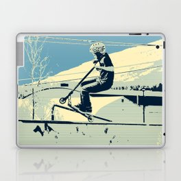 Getting Some Serious Air - Scooter Boy Laptop & iPad Skin