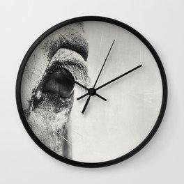 HorSe (V2 grey) Wall Clock