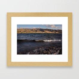 Lake Dunstan Framed Art Print