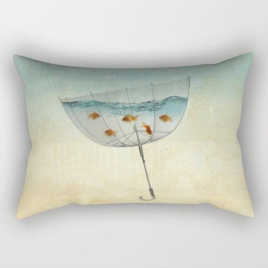 keeping the balance Rectangular Pillow