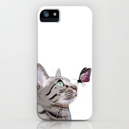 Butterfly & Gouda iPhone Case