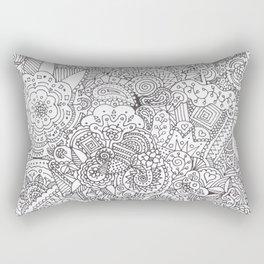 Doodles Rectangular Pillow