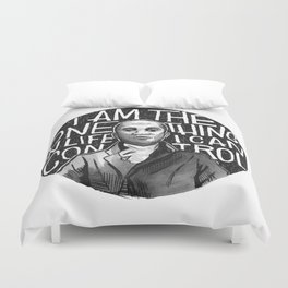 Wait For It [Aaron Burr] Duvet Cover