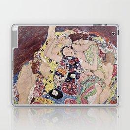 Gustav Klimt - The Maiden Laptop & iPad Skin