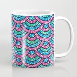 Glitter mermaid scales Coffee Mug