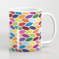 diamonds Mugs featuring Diamonds by Wharton