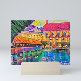 A Gingerbread Lucerne Mini Art Print