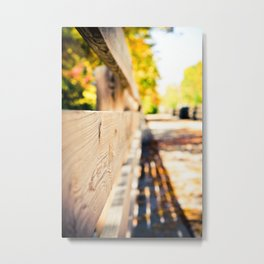 Fall in Milwaukee Metal Print