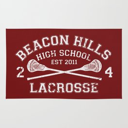 Beacon Hills Lacrosse Rug
