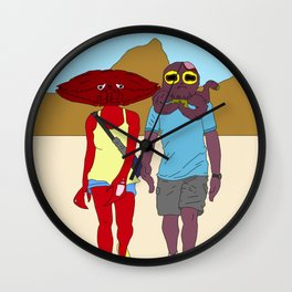 Enchantment Under The Sea Escape Plan Wall Clock
