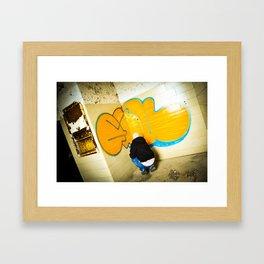 ESU Framed Art Print