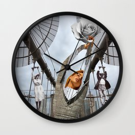 Hold on to your feelings Wall Clock