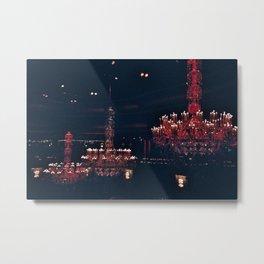 chandeliers Metal Print