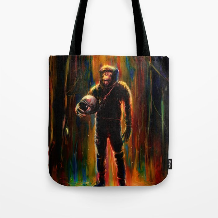Commander Chimp Tote Bag