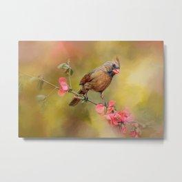 Spring Cardinal 1 Metal Print
