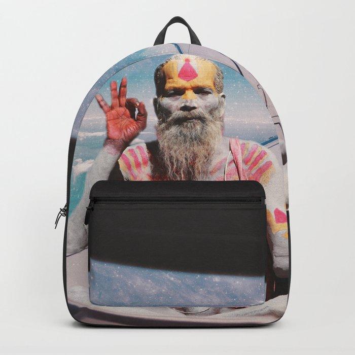 EVERYTHING IS OKAY - YOGI MEDIATION Backpack
