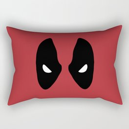 Deadpool Mask Rectangular Pillow