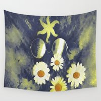 gothic Wall Tapestries featuring Gothic Night by Pepita Selles