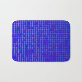 Re-Created SquaresXII Bath Mat