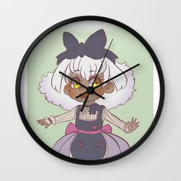 thunder muffin Wall Clock