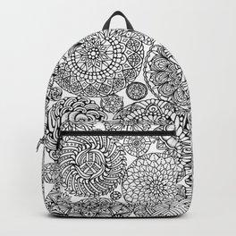The Yang, Light Mandalas Backpack
