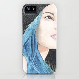 Lauren Calaway portrait iPhone Case
